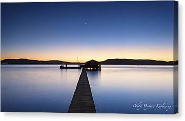 Paddys Oysters Canvas Print by Steve Caldwell