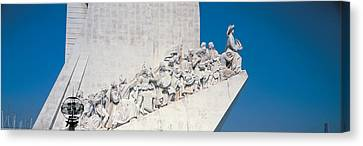 Padro Dos Descobrimentos Lisbon Portugal Canvas Print by Panoramic Images