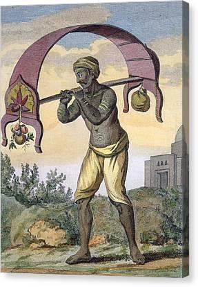 Paeni Caori , From Voyage Aux Indes Et Canvas Print