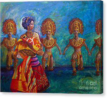Paghidaet Canvas Print by Paul Hilario