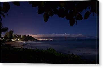 Paia - Baldwin Beach Canvas Print by Matt Schinzel