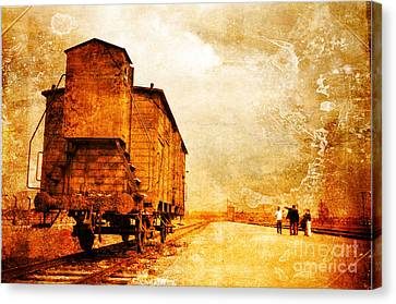 Painful Memories Canvas Print by Randi Grace Nilsberg