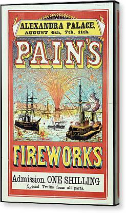 Pain's Fireworks Canvas Print by British Library
