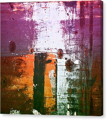 Paint Bi Color 2 Canvas Print