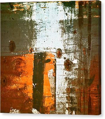 Paint Bi Color 3 Canvas Print