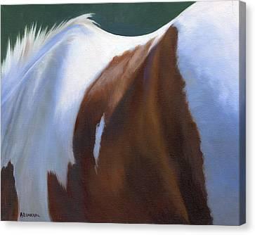 Paint Landscape Canvas Print by Alecia Underhill