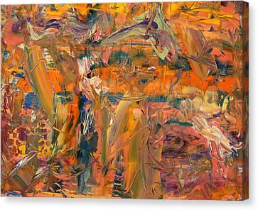 Paint Number 45 Canvas Print