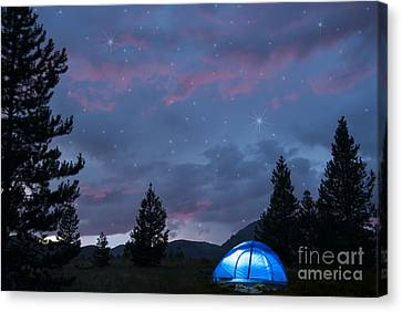 Paint The Sky With Stars Canvas Print by Juli Scalzi