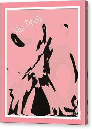 Paint The Town Pink Canvas Print by Cindy McClung