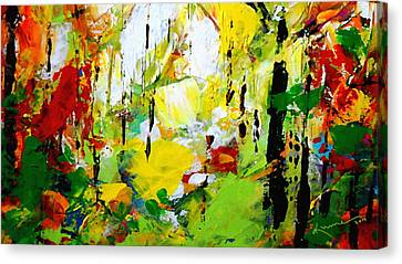 Painted Autumn Canvas Print