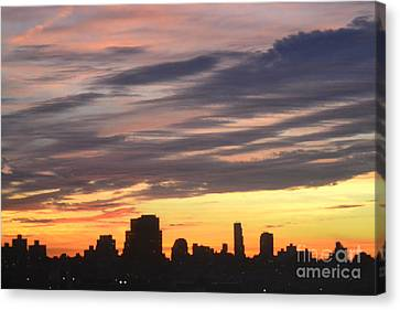 Painted By Nature Canvas Print by Robert Daniels
