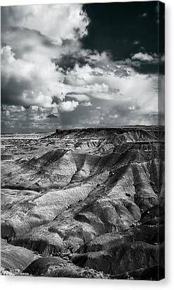 Petrified Forest Arizona Canvas Print - Painted Desert From Lacey Point by Jerry Ginsberg
