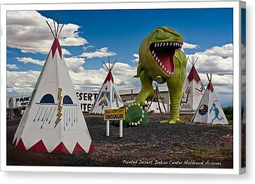 Painted Desert Indian Center  Canvas Print