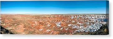 Petrified Forest Arizona Canvas Print - Painted Desert, Petrified Forest by Panoramic Images