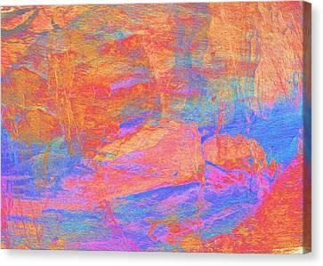 Painted Desert Canvas Print by Stephanie Grant