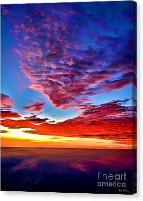 Painted Heavens Canvas Print
