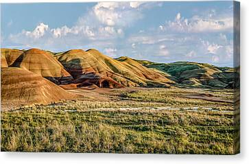 Painted Hills Sunset Canvas Print by Joe Hudspeth