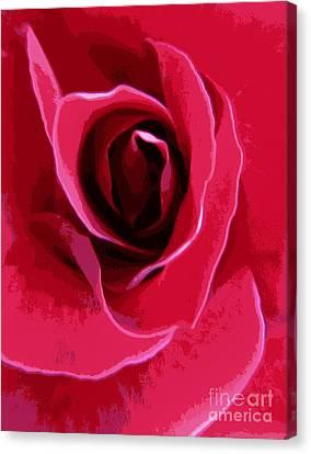 I Love You Mom Canvas Print by Lori Pessin Lafargue