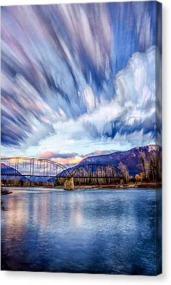 Painted Skies Canvas Print