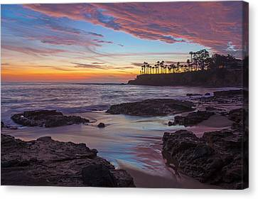Painted Sky Laguna Beach Canvas Print