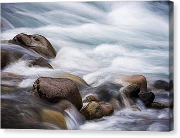 Canvas Print featuring the photograph Painted Water by Brian Bonham