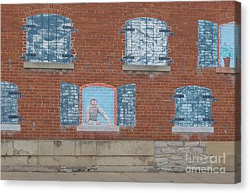 Painted Windows Canvas Print by Kay Pickens