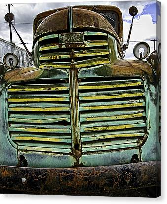 Painted With Rust Canvas Print by Gary Neiss