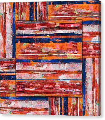Painting Experiment Canvas Print by Bedros Awak