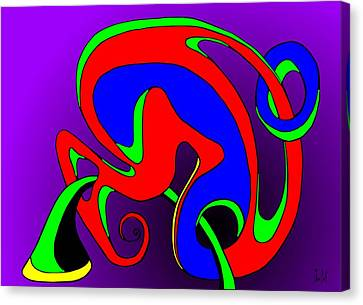 Pair 2014 Canvas Print by Helmut Rottler