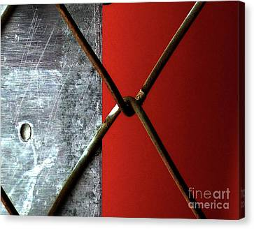 Canvas Print featuring the photograph Paired by Newel Hunter