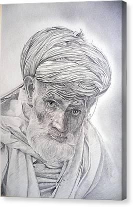 Pakistan Headman Canvas Print