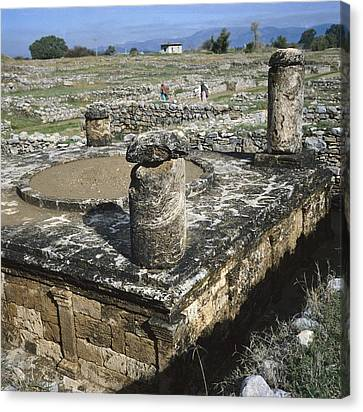 Pakistan. Punjab. Taxila Canvas Print by Everett