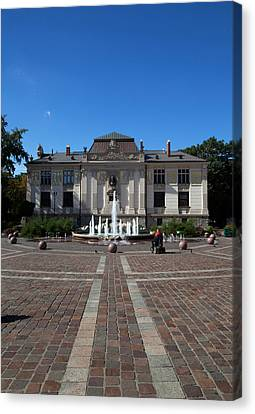Palac Sztuki - The Palace Of Art Canvas Print by Panoramic Images