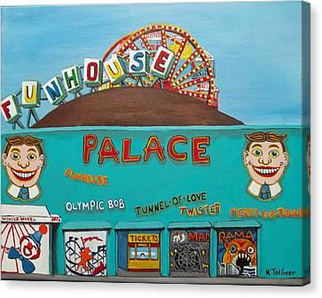 Palace Amusements II Canvas Print