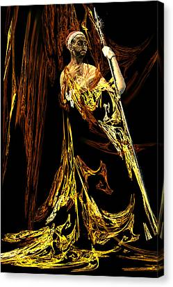 Orientalists Canvas Print - Palace Guard by Lisa Yount