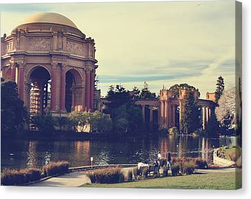 Palace Canvas Print by Laurie Search