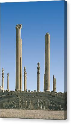 Palace Of Darius I. Apadana Or Audience Canvas Print by Everett