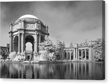 Canvas Print - Palace Of Fine Arts by Bill Gallagher