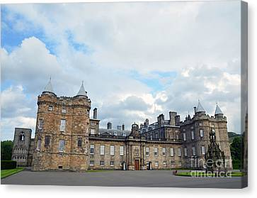 Palace Of Holyroodhouse Canvas Print