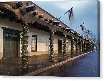 Palace Of The Governors Santa Fe Canvas Print