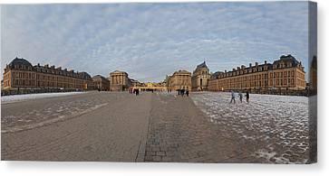 Palace Of Versailles - Paris France - 01134 Canvas Print