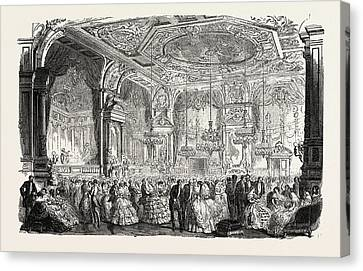Palace Of Versailles The New Dances And Concerts Hall Canvas Print