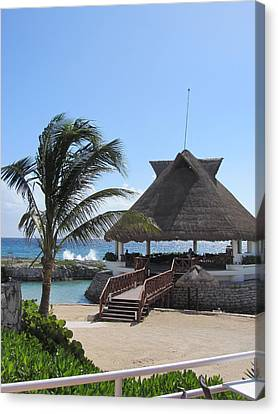 Palace Resort Canvas Print