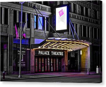 Palace Theater Cleveland Ohio Canvas Print