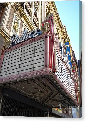 Palace Theater Marquee Canvas Print by Gregory Dyer
