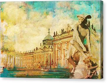 Palaces And Parks Of Potsdam And Berlin Canvas Print by Catf