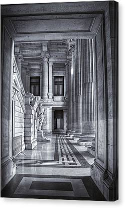 Bruxelles Canvas Print - Palais De Justice by Joan Carroll