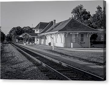 Palatka Train Station Canvas Print