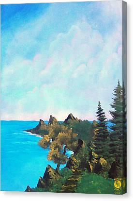 Palawan Canvas Print by Richard Bantigue