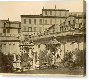 Palazzo Borghese, C1890 Canvas Print by Granger